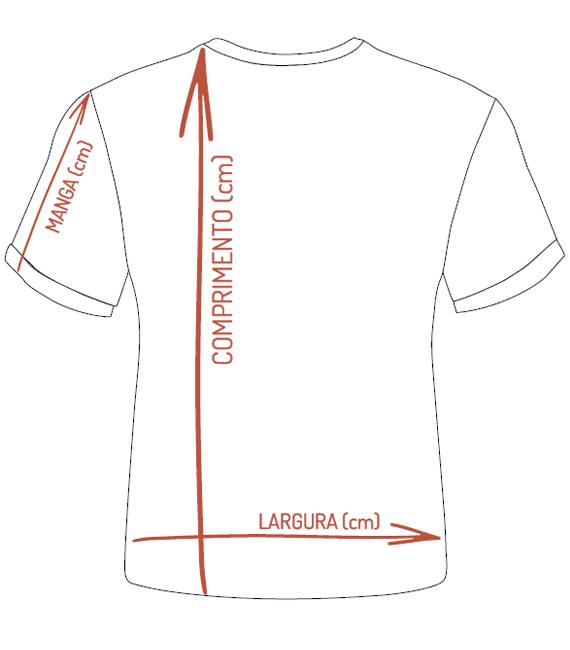 Medidas Camiseta Infantil