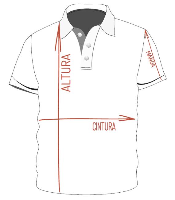 Medidas Camisetas e Camisas Polo