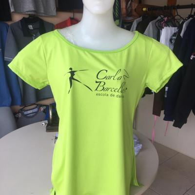 Camiseta Escola de Dança Carla Barcellos.